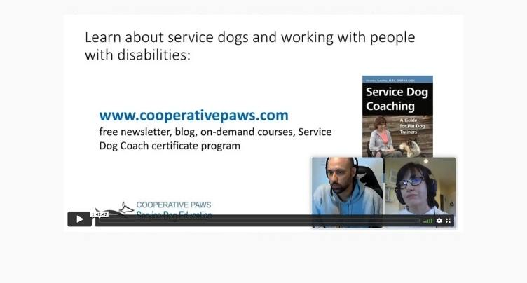 Working with clients with disabilities: Veronica Sanchez